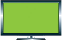 Plasma TV illustration stock