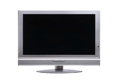 Plasma-TV immagine stock