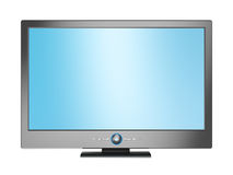 Plasma TV. 3d rendering plasma TV isolated on white Royalty Free Stock Photos