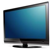 Plasma TV d'affichage à cristaux liquides Images stock