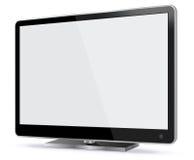 Plasma TV Vector Illustration Royalty Free Stock Image