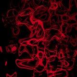 Plasma vermelho ilustração stock