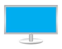 Plasmafernsehapparat lizenzfreie abbildung
