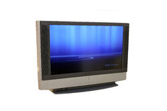 Plasmafernsehapparat Stockbild