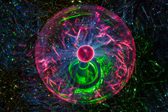 Plasmajordklot Arkivbild