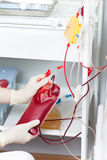 Plasmapheresis Stock Photography