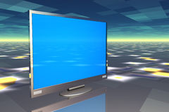 plasmatelevision royaltyfri illustrationer