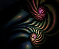 Plasmatic abstract fractal Royalty Free Stock Photo