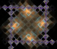 Plasmatic fractal Royalty-vrije Stock Afbeelding