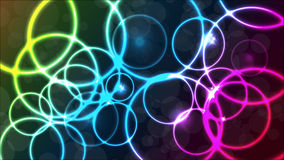 Plasmatischer bunter Hintergrund des Vektors Stockbild