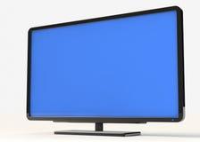 plasmatv Fotografering för Bildbyråer