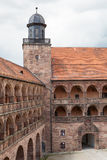 Plassenburg城堡 免版税库存图片