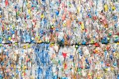 plast- återanvänder arkivbild