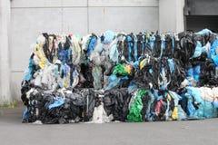 Plast- återvinning Royaltyfria Bilder