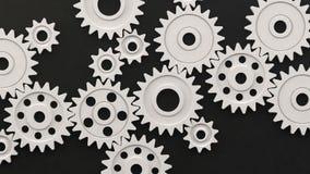 Plast- öglaskugghjul vektor illustrationer