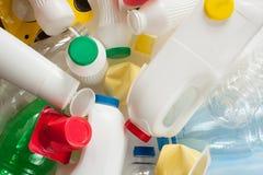 Plast-avfalls royaltyfri fotografi
