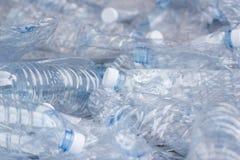 Plast-avfalls - plast-flaskor Royaltyfria Bilder