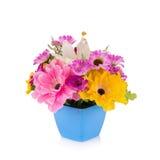 Plast- blomma för garnering royaltyfria foton