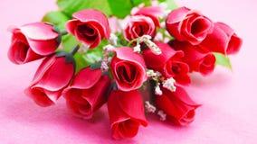 Plast- blommabakgrund Royaltyfri Fotografi