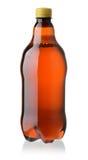 Plast- flaska av öl Royaltyfri Bild