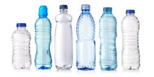 Plast- flaska för vatten royaltyfria bilder
