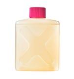 Plast- flaska med den giftliga kemiska lösningen Royaltyfri Bild