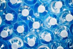 Plast-flaskor för återanvändning och energi - besparing Royaltyfri Bild