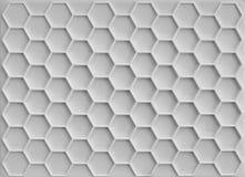 Plast- honungskakabakgrund Arkivbilder