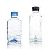 Plast- isolat för vattenflaska Arkivfoton