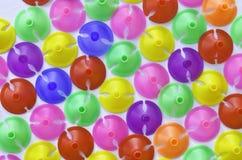 Plast- kopp för färgrika plast- för latexballong Royaltyfri Foto