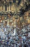 Plast- kroppsdelar som votive religiöst erbjuda, Salvador, Brazi Royaltyfri Bild