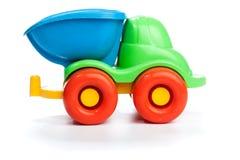 Plast- lastbil för leksak Arkivfoton