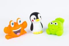 Plast- leksaker Fotografering för Bildbyråer