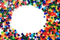 Plast- lock för färg från älsklings- flaskor royaltyfri fotografi
