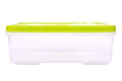 Plast- mataskbehållare Arkivfoton
