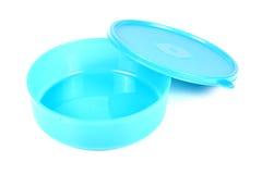 Plast- matbehållare fotografering för bildbyråer