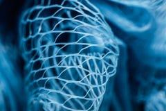 Plast- Mesh Closeup Arkivbild
