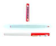 Plast- penna Fotografering för Bildbyråer
