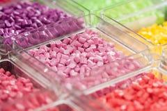 Plast- polymer Royaltyfria Foton