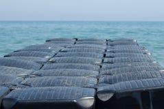 plast- ponton Royaltyfri Bild