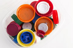 Plast-proppar arkivfoton