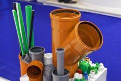 Plast-slangar för motor Royaltyfria Bilder