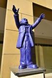 Plast- staty av Richard Wagner i Bayreuth, Tyskland Royaltyfria Bilder