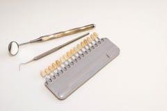 Plast- tand- implantat Fotografering för Bildbyråer