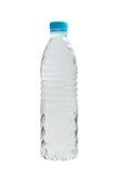 Plast- vattenflaska royaltyfri fotografi