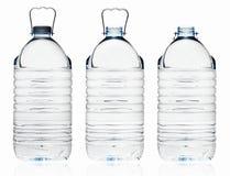 Plast- vattenflaska Royaltyfria Foton