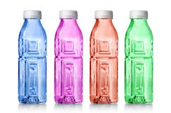 Plast- vattenflaska Arkivfoto