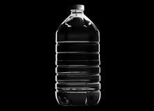Plast- vattenflaska Fotografering för Bildbyråer