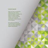 Plast- vektorfyrkantmall, med utrymme för ditt innehåll kolonn Vektor Illustrationer