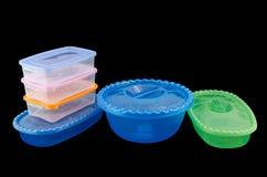 Plast- ware Royaltyfria Foton